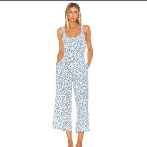 NWT Faithfull The Brand Marija Floral Jumpsuit